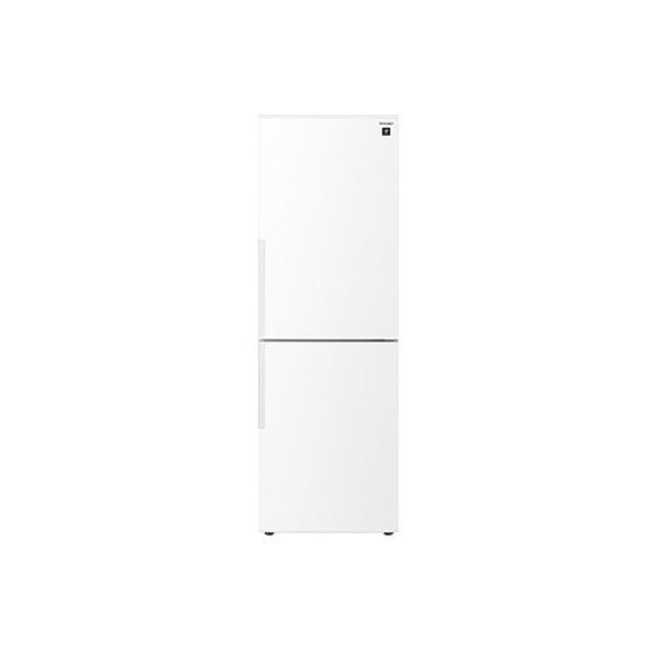 【限定セール!】 冷蔵庫 シャープ シャープ SJ-PD31E-W 白 ホワイト 310L プラズマクラスター 右開き メガフリーザー 脱臭 抗菌 同棲 カップル 2人, コンタクト通販 レンズフリー aa94c863