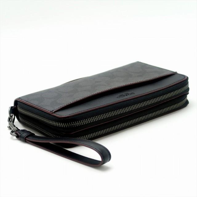 new concept b6164 a5664 コーチ COACH 財布 メンズ セカンドバッグ ポーチ 長財布 パスポートケース シグネチャー 67626N3A ブランド 人気|au  Wowma!(ワウマ)