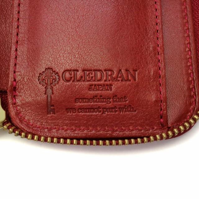 2498cbfc396a 【最大P34倍☆還元祭限定】クレドラン 二つ折り財布 CLEDRAN DEBOR デボール