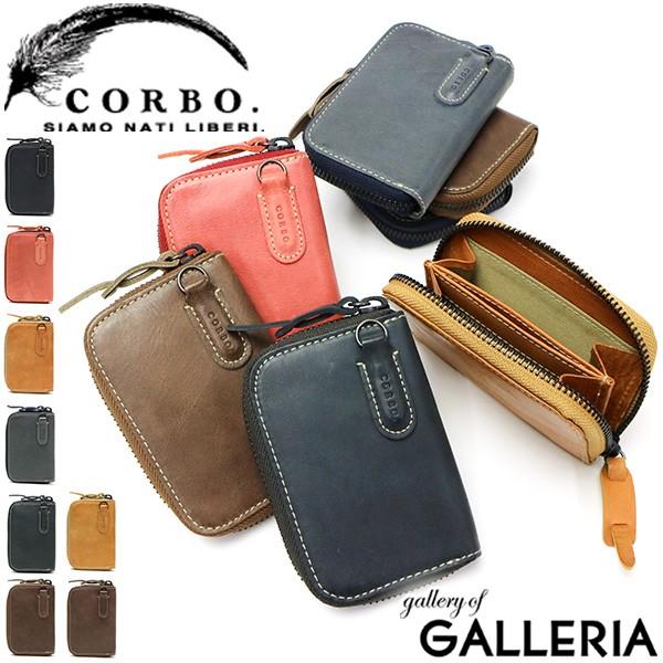 【商品レビューで+5%】コルボ 財布 CORBO Curious カード&コインケース 小銭入れ カードケース メンズ 本革 8LO-9935