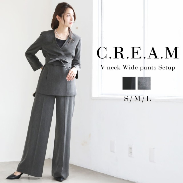 05100e329b3be 牧野紗弥×パンツスーツ レディース 大きいサイズ おしゃれスーツ 結婚式 入学式 入園式