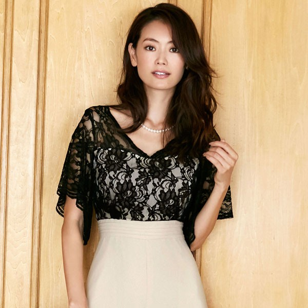 c08365ce14faa 葛岡碧×パンツドレス 結婚式 パーティー ドレス 大きいサイズ 激安 20代 ...