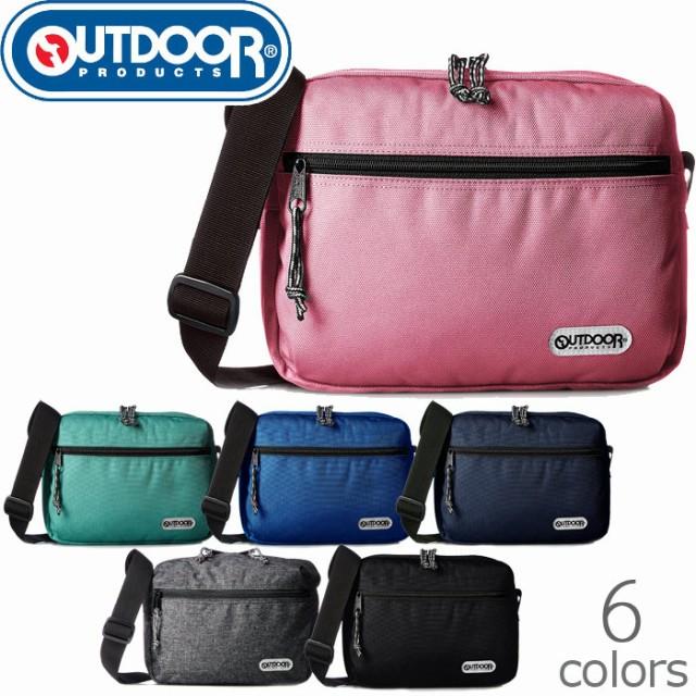 アウトドア OUTDOOR products ショルダーバッグ 斜めがけバック 横型 メンズ/レディース 全6色 62319 ポ