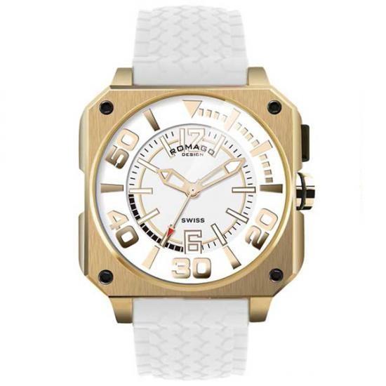 最高の品質の クールシリーズ RM018-0073PL-GD Cool 腕時計 series ROMAGO DESIGN (ロマゴデザイン)-その他腕時計