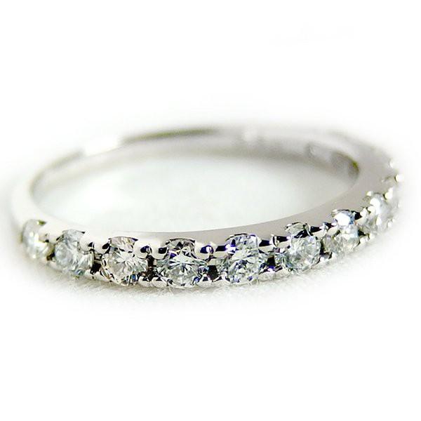 【10%OFF】 ダイヤモンド リング ハーフエタニティ 0.5ct 11号 プラチナ Pt900 ハーフエタニティリング 指輪, ケセンヌマシ 39594641