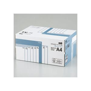 全てのアイテム TANOSEE (まとめ) αエコカラーペーパーII A4 1箱(5000枚:500枚×10冊) クリーム 業務用パック 〔×10セット〕-プリンター・インク