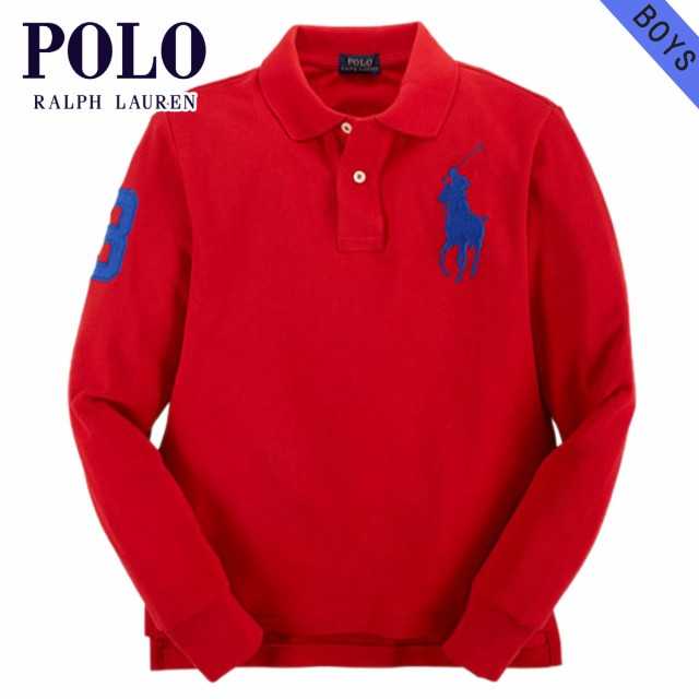 fe3e86ef75512 ポロ ラルフローレン キッズ POLO RALPH LAUREN CHILDREN 正規品 子供服 ボーイズ 長袖ポロシャツ CUSTOM