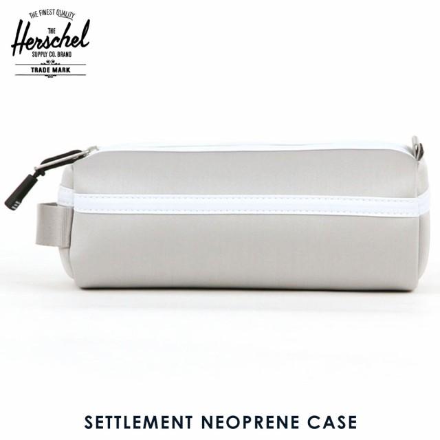 ハーシェル Herschel Supply 正規販売店 ポーチ SETTLEMENT NEOPRENE CASE 10071-01272-OS SHINYSILVER