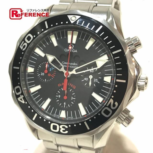 【保障できる】 あす着オメガ 2569.52 シーマスター レーシング クロノメーター300 メンズ腕時計 腕時計, ぶんぐる 7b6e8ed7