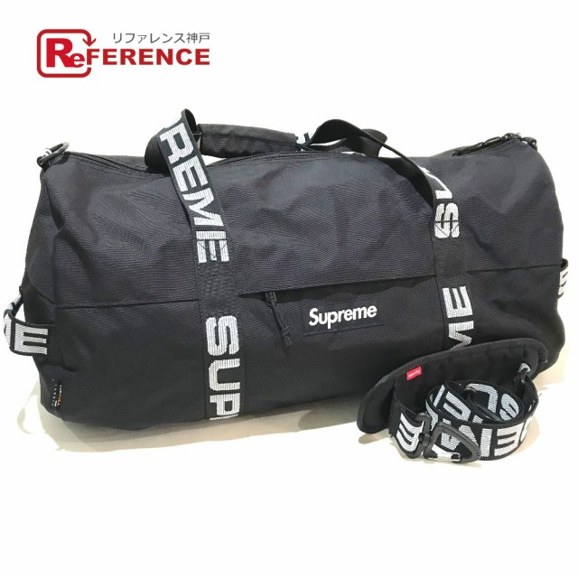 人気特価 新品同様 あす着シュプリーム ラージダッフルバッグ ロゴ 18SS 18SS Large Duffle Bag Duffle Bag ボストンバッグ, ジュエリーリフォーム夢工芸:724f9b62 --- 1gc.de