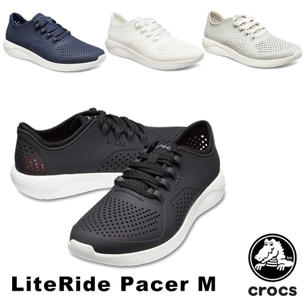 c7974780185fcf 【送料無料】クロックス(CROCS) ライトライド ペイサー メン(literide pacer men