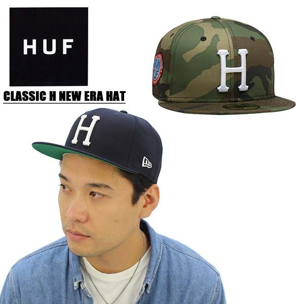 ハフ(HUF) CLASSIC H NEW ERA HAT 6パネル キャップ ニューエラ  帽子 8 ... 581c48990b133