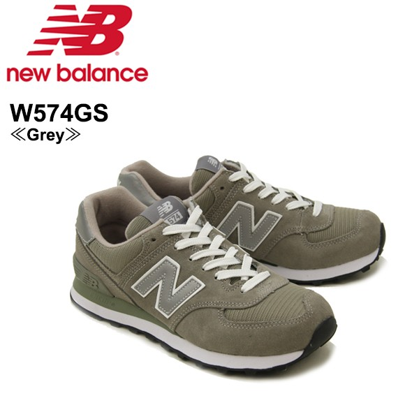 cheap for discount 90119 f60c7 ニュー バランス(New Balance)W574/574 ランニング スニーカー  ≪W574GS/Grey≫/シューズ/レディース/ウィメンズ/女性 ...