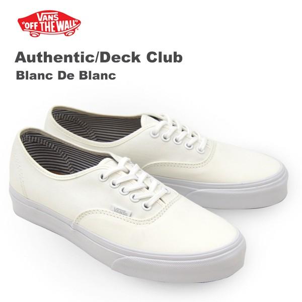 123c986158 バンズ(VANS) オーセンティック デッキ クラブ (Authentic Deck Club) メンズ