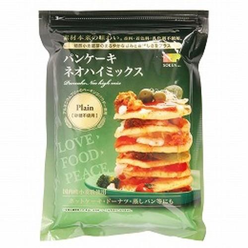 【創健社】パンケーキ ネオハイミックス 砂糖不使用(プレーン) 400g