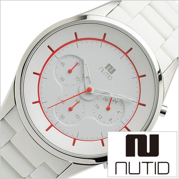 今季ブランド ヌーティッド 腕時計 [NUTID 時計]ヌーティッド 時計 [NUTID 腕時計]クレーター CRATER メンズ/ホワイト 1404P-C, 越後米蔵商店 c40ea7c2