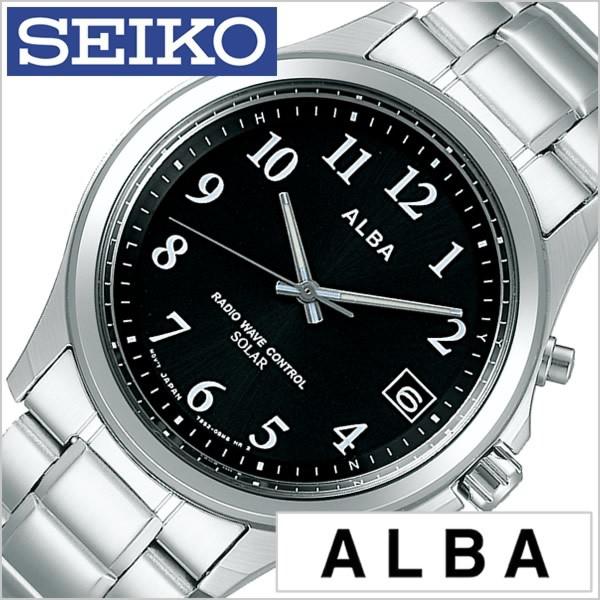 low priced c550e 6bcc6 セイコー腕時計 SEIKO時計 SEIKO 腕時計 セイコー 時計 アルバ ALBA メンズ/レディース/ブラック ...