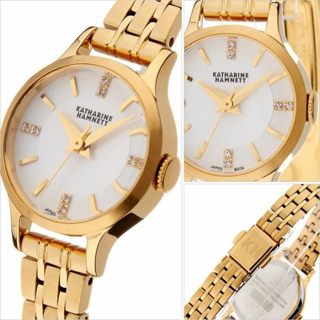 new style f44b3 00d01 キャサリンハムネット腕時計 KATHARINE HAMNETT 腕時計 キャサリン ハムネット 時計 イングリッシュ スリック  レディース/シルバーホワイ|au Wowma!(ワウマ)