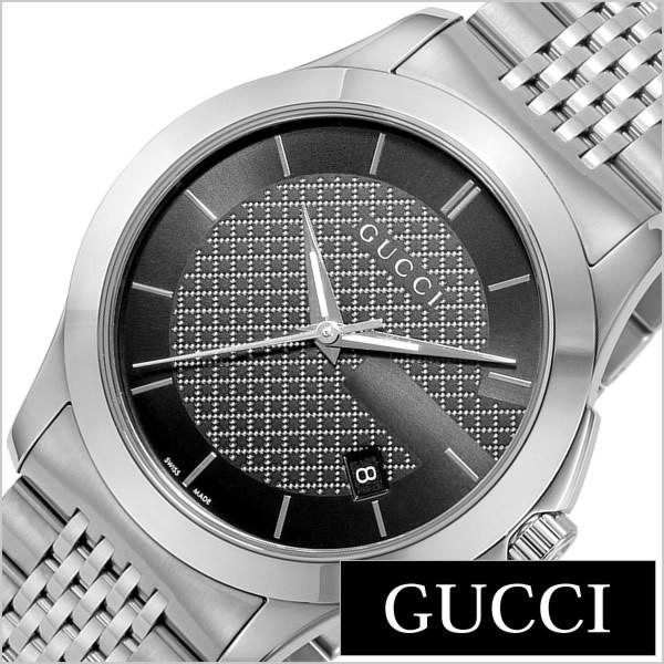 8da7b4d1fd2e グッチ腕時計 GUCCI時計 GUCCI 腕時計 グッチ 時計 Gタイムレス G Timeless メンズ/ブラック YA126480