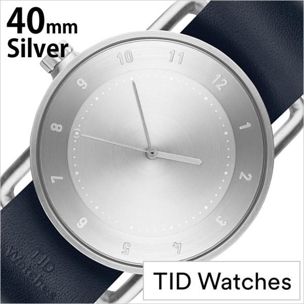 最新な SET-TID02-SV40-NV ウォッチ Watches TIDWatches時計 TID ティッド メンズ/シルバー ティッドウォッチ腕時計 時計 腕時計-その他腕時計