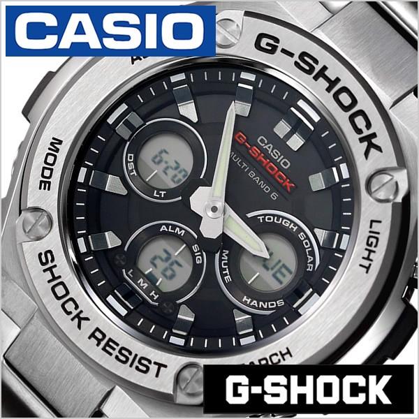 トップ カシオ腕時計 CASIO時計 CASIO 腕時計 カシオ 時計 腕時計 Gショック カシオ ジースチール G-STEEL G-SHOCK G-STEEL メンズ/ブラック GST-W310D-1AJF, 珍しい:4edb5937 --- chevron9.de
