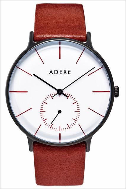 new style a9b36 87d96 ADEXE 腕時計 アデクス 時計 グランデ GRANDE メンズ 防水 男性 大学生 ホワイト 1.868 ブランド|au Wowma!(ワウマ)