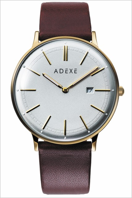 buy popular 6d59f b1b2c ADEXE 腕時計 アデクス 時計 グランデ GRANDE メンズ 防水 男性 大学生 グレー 2046A-03|au Wowma!(ワウマ)