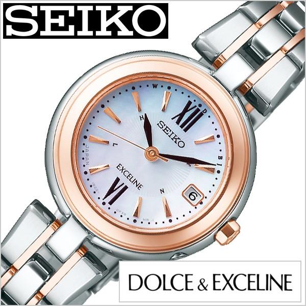 【最安値挑戦】 セイコー腕時計 SEIKO 腕時計 セイコー 時計 ドルチェ&エクセリーヌ 限定モデル DOLCE&EXCELINE レディース 白蝶貝 SWCW134, 守谷市 76de4ae3