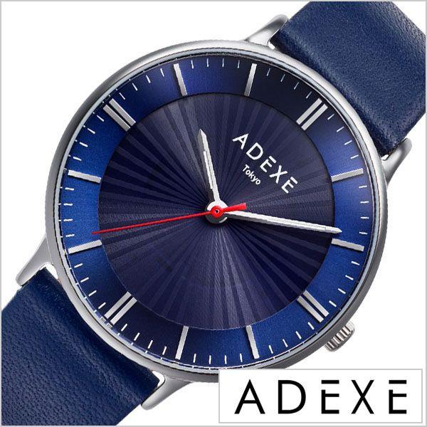 sale retailer f9c43 0c2f0 ADEXE 腕時計 アデクス 時計 メンズ 防水 レディース ブルー ADX-1868I-01 20代 30代 40代|au Wowma!(ワウマ)