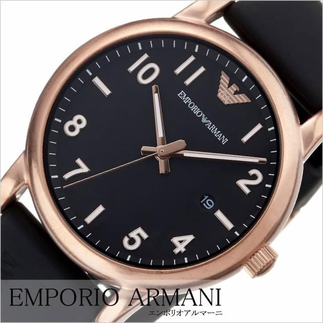 cheap for discount a84b9 76eaf エンポリオアルマーニ腕時計 EMPORIOARMANI時計 EMPORIO ARMANI 腕時計 エンポリオ アルマーニ 時計 メンズ ブラック  AR11097|au Wowma!(ワウマ)