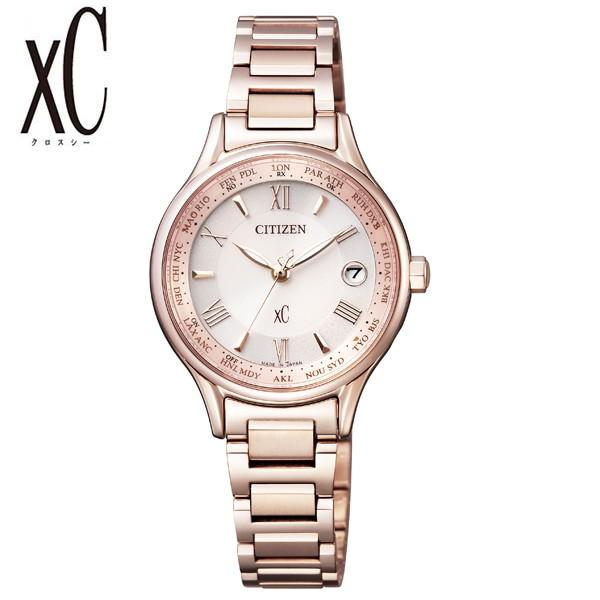 国内初の直営店 シチズンクロスシー腕時計 CITIZENxC時計 CITIZEN xC 腕時計 シチズン クロスシー 時計 レディース ピンク EC1164-53W, e-スーパーマーケット 2faa9811