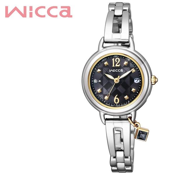 多様な CITIZEN 腕時計 シチズン 時計 ウィッカ wicca レディース ブラック KL0-910-51, 服道楽 -- c64677ae