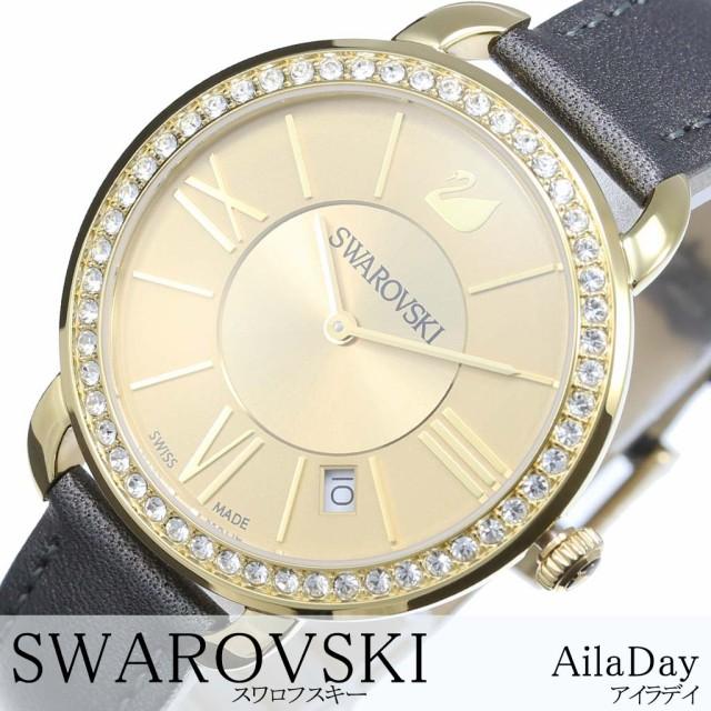 世界の Swarovski ゴールド 腕時計 スワロフスキー レディース 腕時計 時計 アイラ デイ Aila Day レディース 女性 妻 ゴールド SW-5221141, コウホクマチ:30297f31 --- kzdic.de