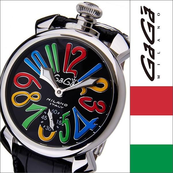 huge selection of c69d3 7e951 GaGaMILANO腕時計[ガガミラノ時計]GaGa MILANO ガガ ミラノ 時計 GG-50102S au Wowma!(ワウマ)