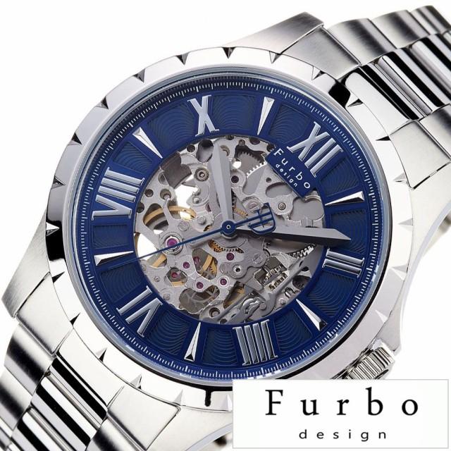 新品 フルボデザイン 腕時計 Furbodesign 時計 FURBO design 腕時計 フルボ デザイン 時計 メンズ腕時計 ブルー F5021SNVSS, screw d5890ab0