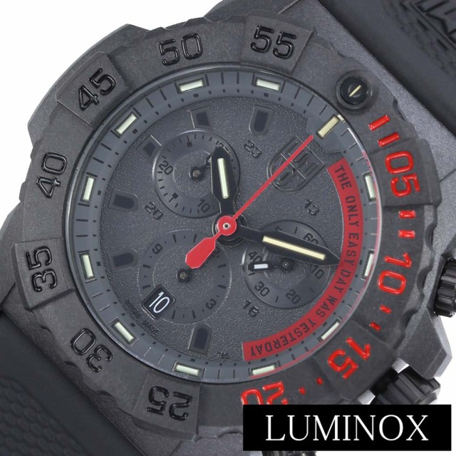 最適な材料 ミリタリーウォッチ ルミノックス 腕時計 LUMINOX 時計 ネイビーシールズ Navy SEALs メンズ ブラック LM-3581EY, N.J made 5a063388