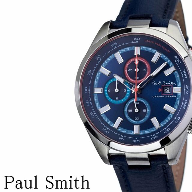 【スーパーセール】 ポールスミス 腕時計 Paulsmith 時計 Paulsmith腕時計 ポールスミス時計 メンズ ネイビー PS0110012, 伊良部町 fe6594bd