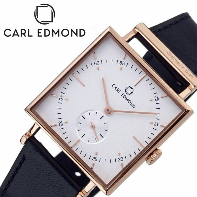 正規品! カールエドモンド 腕時計 CARLEDMOND 時計 グラニット Granit 男女兼用 ホワイト CEG3411-BLR21, 汚れバスターズ 286992cf