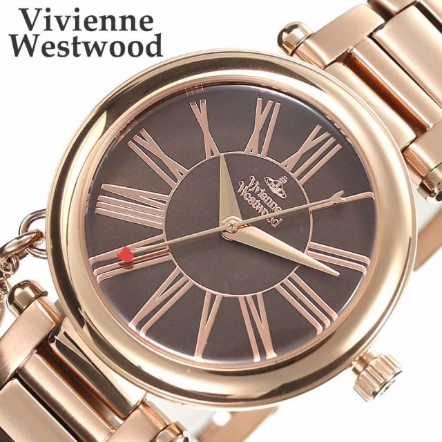 【お得】 ヴィヴィアンウエストウッド 腕時計 VivienneWestwood 時計 レディース 腕時計 ブラウン VV006PBRRS, 宅配マイスター 1284b19e