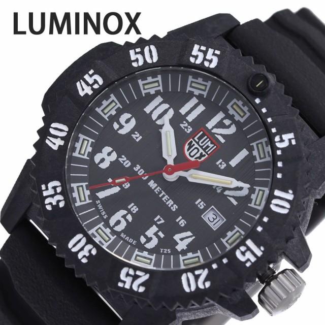 【国内配送】 ルミノックス 腕時計 LUMINOX 時計 マスター カーボン シールズ MASTER CARBON SEAL 3800 SERIES メンズ ブラック 3801, ポケットコンビニ e4a134cc
