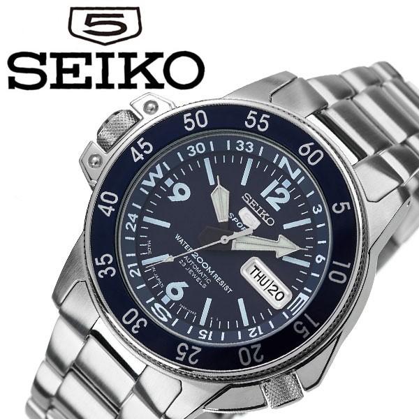 適切な価格 セイコー SEIKO5 腕時計 SEIKO 時計 ネイビー セイコーファイブ SEIKO5 メンズ ネイビー SKZ209J1 SKZ209J1, 家具館:7875e223 --- kzdic.de
