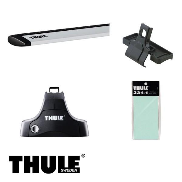 THULE/スーリー ジューク H22/6~ キャリア 車種別セット/754+961+1619