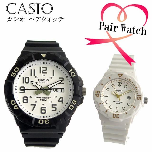 huge discount a38ff 2a123 【ペアウォッチ】 カシオ CASIO クオーツ チープカシオ ラバー カジュアル 腕時計 MRW-210H-7A LRW200H-7E2 【激安】  【SALE】|au Wowma!(ワウマ)