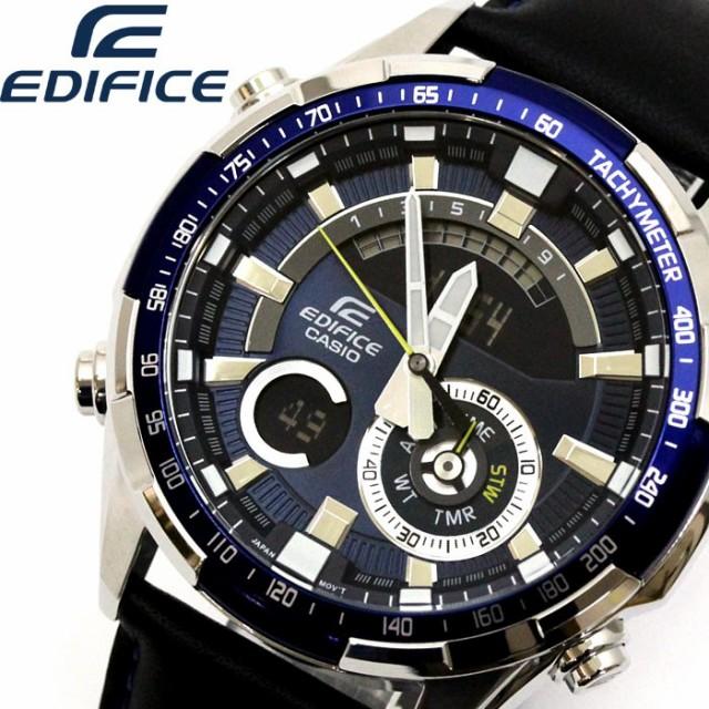 【再入荷】 CASIO EDIFICE カシオ エディフィス 腕時計 メンズ 10気圧防水 ERA-600L-2A レザー 【激安】 【SALE】, richic(ジュエリー) b6ff4c96