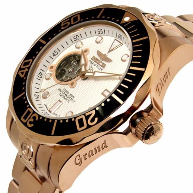 d77dbe62c7 【送料無料】腕時計 メンズ グランドダイバー INVICTA インビクタ 13712 自動巻き【激安】