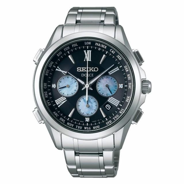 最高の セイコー ドルチェ メンズ腕時計 ソーラー 電波 クロノグラフ チタン SADA031 国内正規品 取り寄せ, だがしや小町 19b89a66