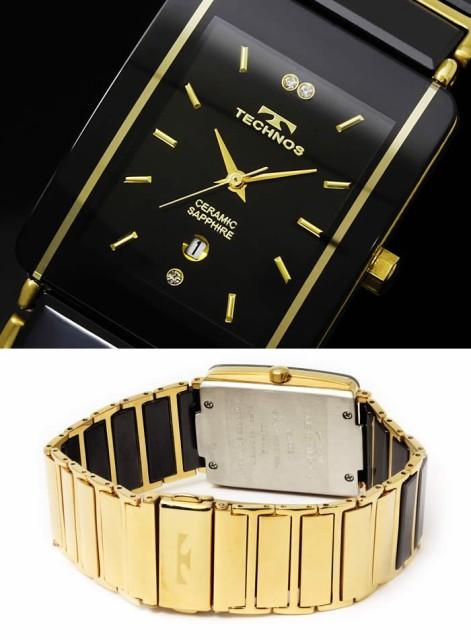san francisco 49051 27fcf 腕時計 メンズ 時計 テクノス 防水 TECHNOS セラミック スクエア TSM903【激安】【セール】|au Wowma!(ワウマ)