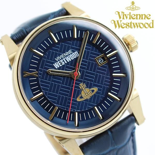 春夏新作 Vivienne Westwood ヴィヴィアンウエストウッド メンズ Vivienne メンズ ウォッチ 腕時計 レザー ブランド ウォッチ VV065BLBL, FAUbon:6c3becac --- chevron9.de