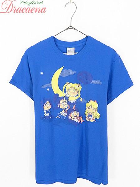 古着 レディース Tシャツ セーラームーン キャラクター Tシャツ S位 古着