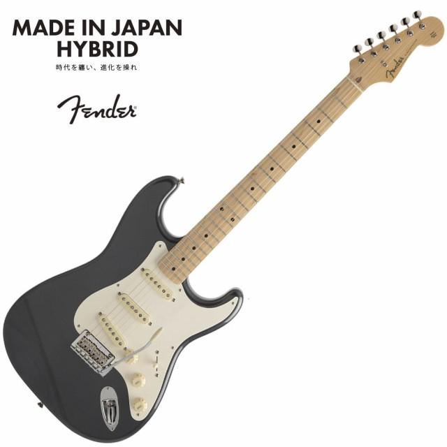 夏セール開催中 MAX80%OFF! Fender Made in Japan Hybrid 50s Stratocaster, Maple, Charcoal Frost Metallic【フェンダージャパンストラトキャスター】, 丸岡町 a3816638